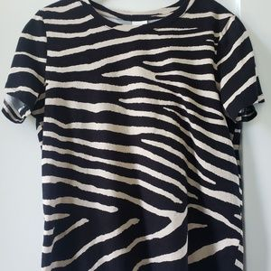 H&M animal print tshirt